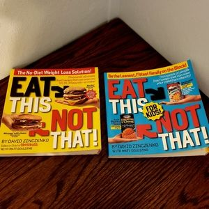 Eat This Not That Books